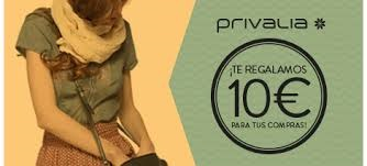 Quieres consegir 10 euros de regalo en Privalia, pincha aqui