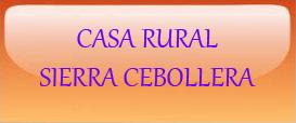 Casa Rural Sierra Cebollera