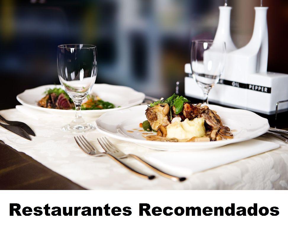 Restaurantes recomendados
