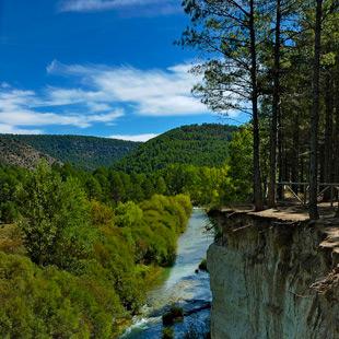 Alto Tajo, un deleitoso paisaje de Parque Natural