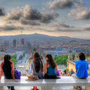 Barcelona ciudad, mil encantos, mil sentidos