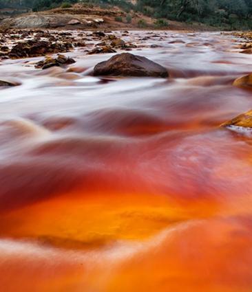 Río Tinto, río rojo y parajes de mil colores