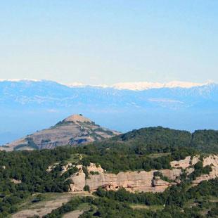 Sant Llorenç del Munt i l'Obac, riscos y bosques