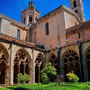 Santes Creus y Valls, monasterio y castellets