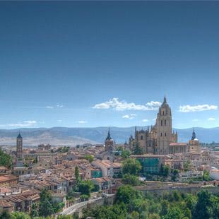 Segovia, Patrimonio de la Humanidad, tan bella