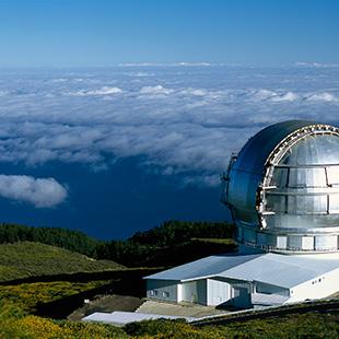 La Palma, la isla bonita y verde de cielos claros