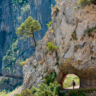 Ruta del Cares, Garganta Divina en Picos de Europa